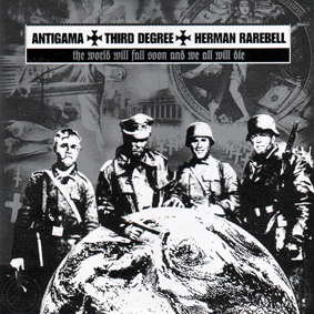 ANTIGAMA / THIRD DEGREE / HERMAN RAREBELL – split CD