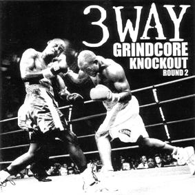 3 WAY GRINDCORE KNOCKOUT split CD