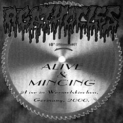 AGATHOCLES – Alive And Mincing CD