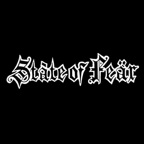 STATE OF FEAR – logo – patch