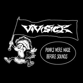 VIVISICK – punks were made – patch