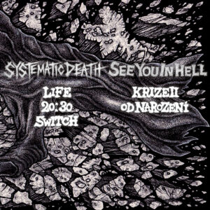 SEE YOU IN HELL / SYSTEMATIC DEATH split EP out soon!