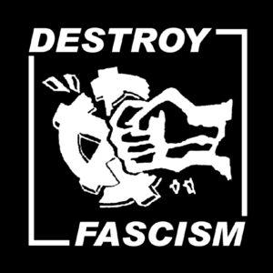 DESTROY FASCISM – patch