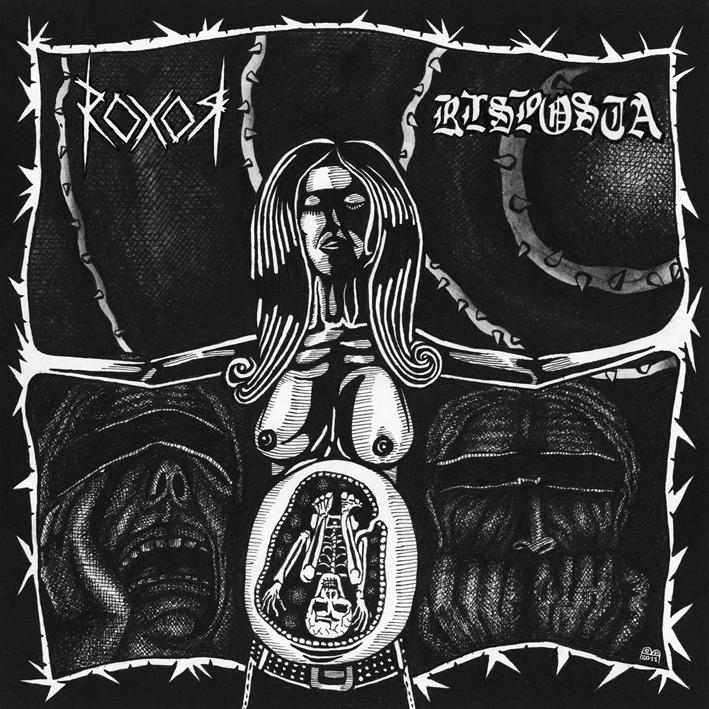 RISPOSTA / ROXOR split LP
