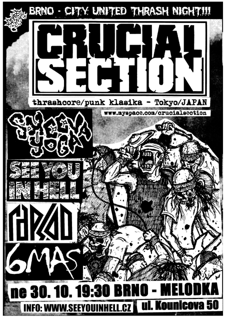 CRUCIAL SECTION (Japan) – Brno