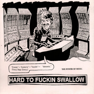 HARD TO SWALLOW / MANFAT split EP