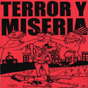TERROR Y MISERIA – s/t – EP