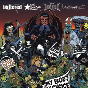 HELLISHEAVEN / HUMARROGANCE / BATTERED / CZAS ZLAMAC PRAWO – split LP