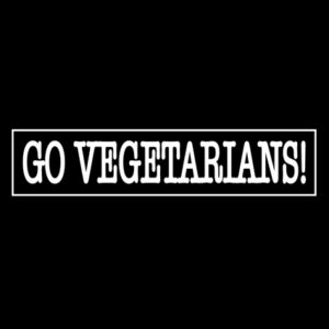 GO VEGETARIANS! – patch