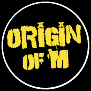 ORIGIN OF M – žluté logo – otvírák