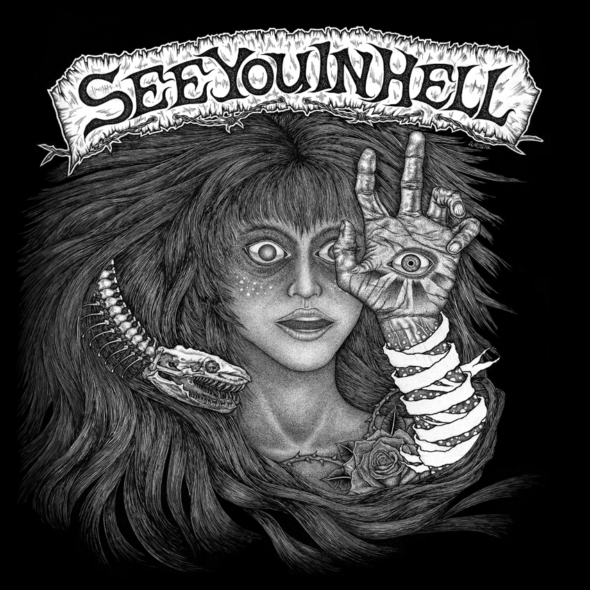 SEE YOU IN HELL – Jed – LP RECENZE
