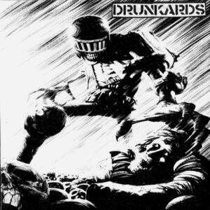 DIRTY POWER GAME / DRUNKARDS – split EP