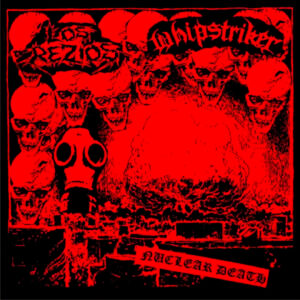 LOS REZIOS / WHIPSTRIKER – split EP