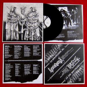 GRAVEYARD / KORGULL THE EXTERMINATOR – split LP