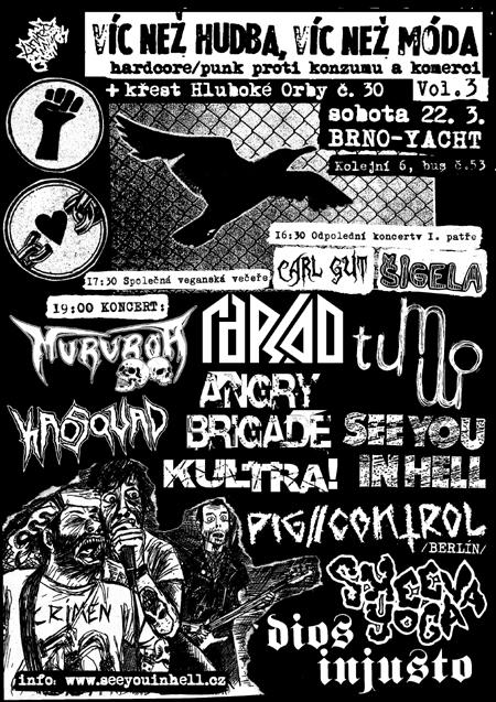 Hardcore / punk proti konzumu a komerci Vol. 3