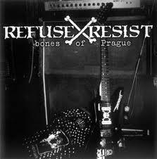 REFUSE / RESIST – bones of Prague – compilation CD