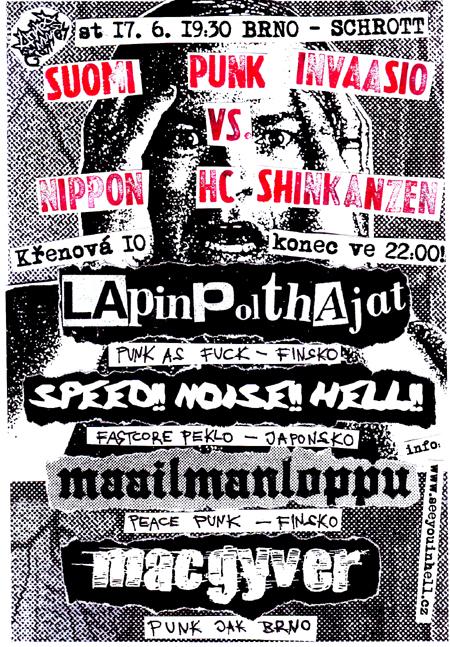 SPEED!! NOISE!! HELL!! (Kochi-city, Japonsko)