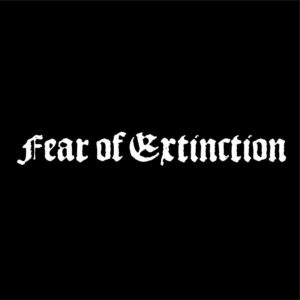 FEAR OF EXTINCTION – logo – patch