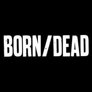 BORN/DEAD – logo – nášivka