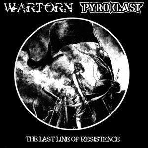 WARTORN / PYROKLAST – split LP