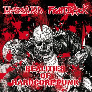 HAZARD / FIGHT BACK – split LP
