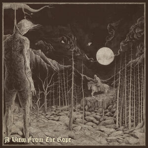 HOODED MENACE / LOSS – A View from the Rope – split LP