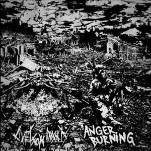 ANGER BURNING / LIVET SOM INSAT – split EP
