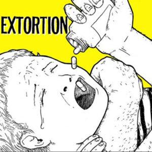 EXTORTION / JED WHITEY – split EP