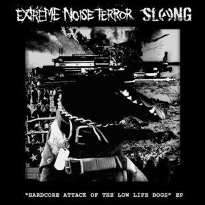 EXTREME NOISE TERROR / SLANG – split EP