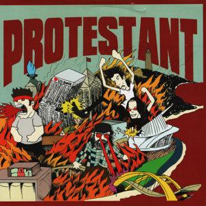 PROTESTANT / GET RAD – split EP
