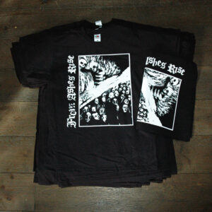 FROM ASHES RISE – backpatches and shirts – free copies for the band