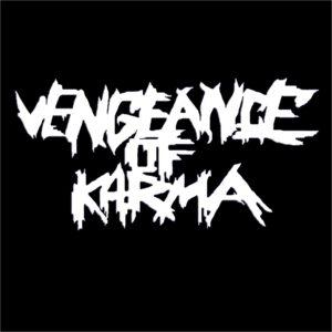 VENGEANCE OF KARMA – logo – patch