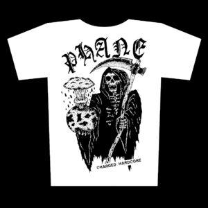PHANE – Charged Hardcore – white t-shirt