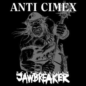 ANTI CIMEX – Scandinavian Jawbreaker – backpatch