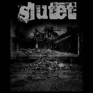 SLUTET – labil – zádová nášivka