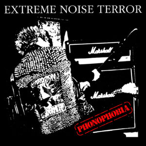 EXTREME NOISE TERROR – Phonophobia – backpatch