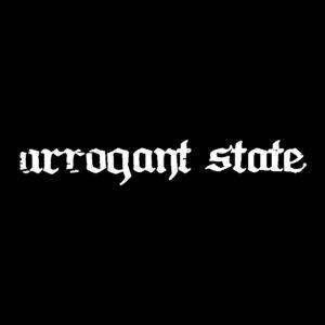 ARROGANT STATE – logo – patch