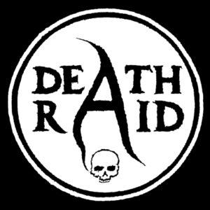 DEATHRAID – circle logo – patch