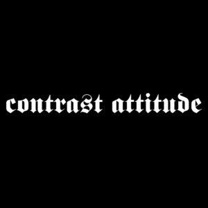CONTRAST ATTITUDE – logo – patch