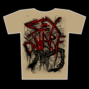 SEX DWARF – s/t – khaki t-shirt