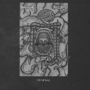 EXILENT / MORIBUND SCUM – split LP