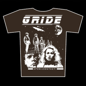 GRIDE – Ufoni jsou tady! – tričko