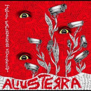ALIUSTERRA / UŠTKNI – split LP