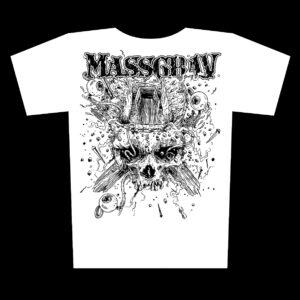 MASSGRAV – coffin – bílé dámské tričko
