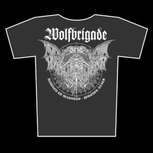 WOLFBRIGADE – Damned to Madness – girlie graphite t-shirt