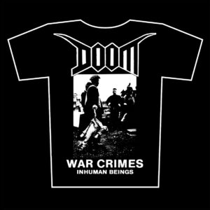 DOOM – War Crimes – t-shirts available again