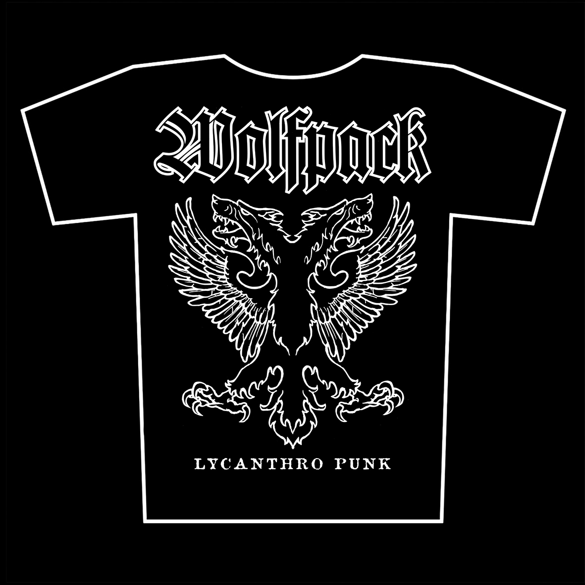 WOLFPACK – Lycanthro Punk – t-shirts available again