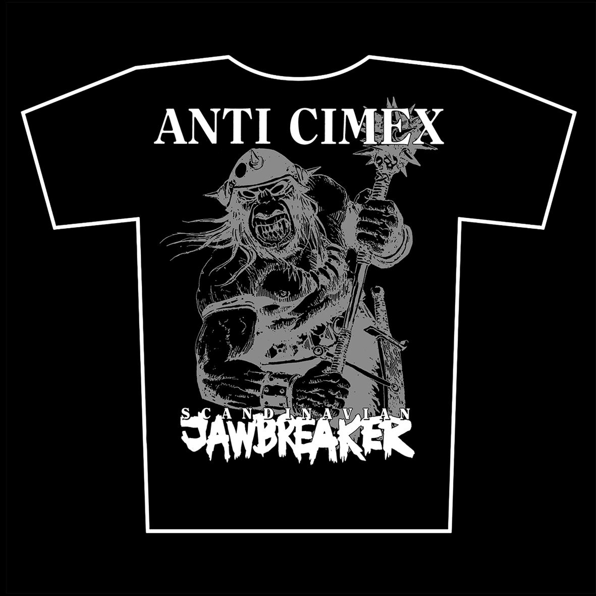ANTI CIMEX – Scandinavian Jawbreaker – t-shirts available again