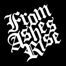FROM ASHES RISE – logo – patch