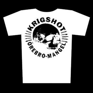 KRIGSHOT – Örebro Mangel – white t-shirt